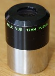 "Televue 17mm ""Smooth Side""  Plossl (Good Planatary)"